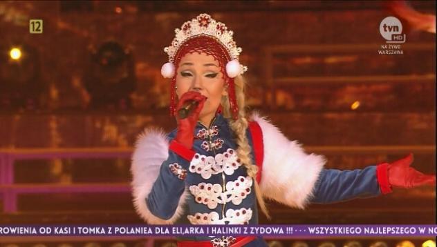 Występ Cleo podczas Sylwestra 2016 cz. 1