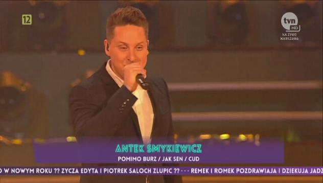 Sylwester 2016: Antek Smykiewicz