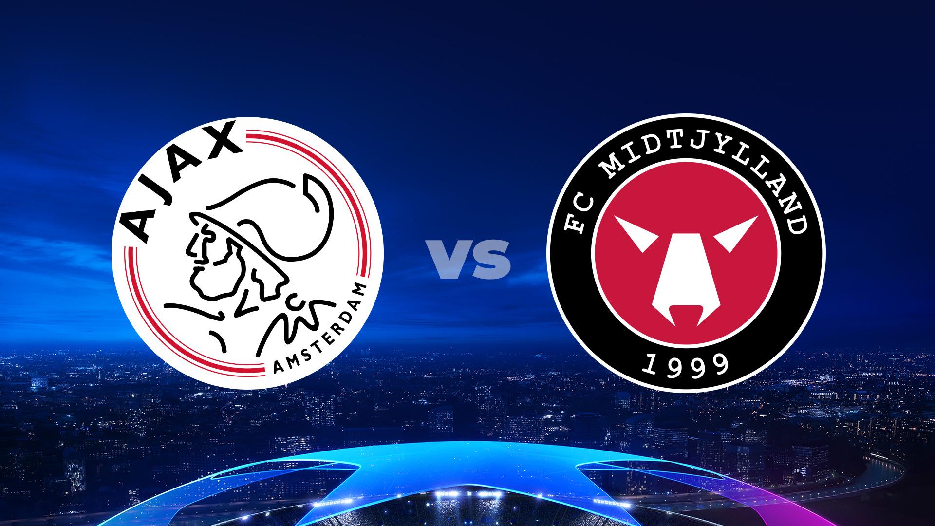 Ajax Amsterdam - FC Midtjylland