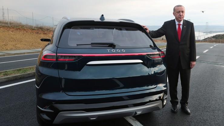 Erdogan zaprezentował pierwszy turecki samochód elektryczny