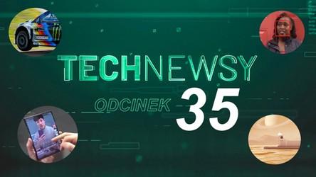 Zobacz TechNewsy odcinek 35 - filmowy przegląd najciekawszych wiadomości