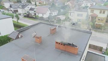 Drony pomagają w walce ze smogiem. Władze Poznania przedłużają akcję