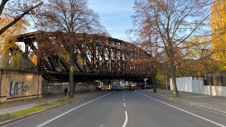 Dawne wiadukty wyprowadzające tory z dworca w kierunku Szczecina
