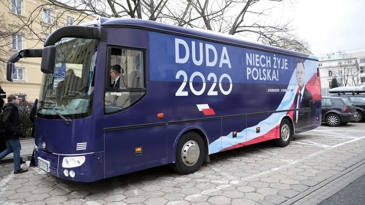 Wystartował DudaBus. Ma odwiedzić ponad 100 miejscowości