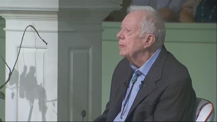 Były prezydent USA Jimmy Carter wyszedł ze szpitala