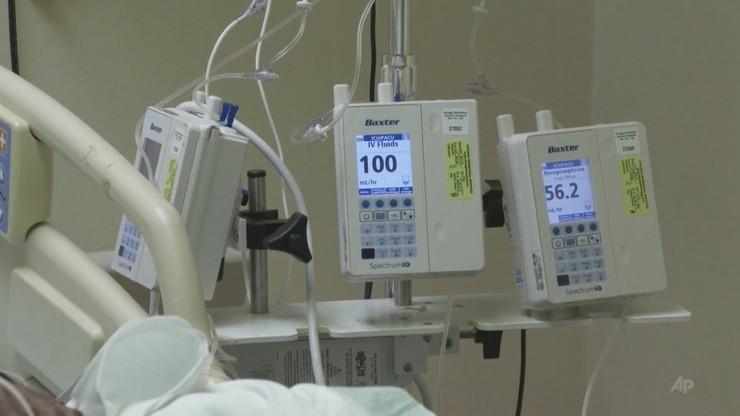 Ozdrowieniec wrócił do szpitala zakaźnego. Pozytywny wynik testu