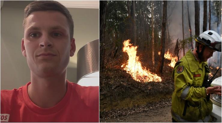 """Polscy tenisiści w Australii: """"Na hali sauna"""". Dym, popiół i skrajnie wysokie temperatury [WIDEO]"""