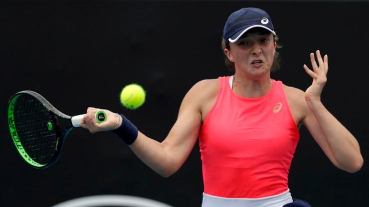 Australian Open: Szybka wygrana Świątek