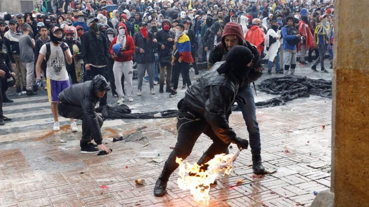 Eksplozja na komisariacie w Bogocie. Zginęło trzech policjantów