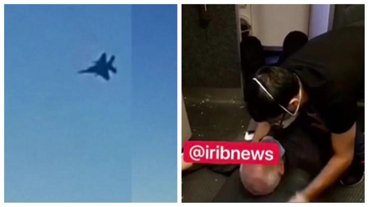 Myśliwce zmusiły samolot do lądowania. Chwile grozy na pokładzie [WIDEO]