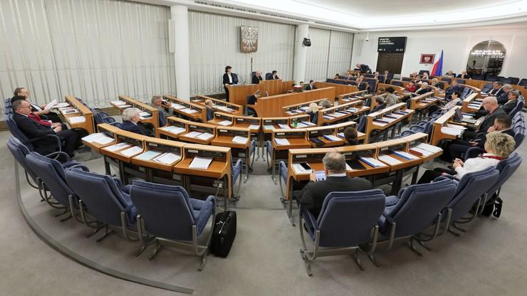 Debata w Senacie o ustawach sądowych. Głosowania przesunięte na poniedziałek