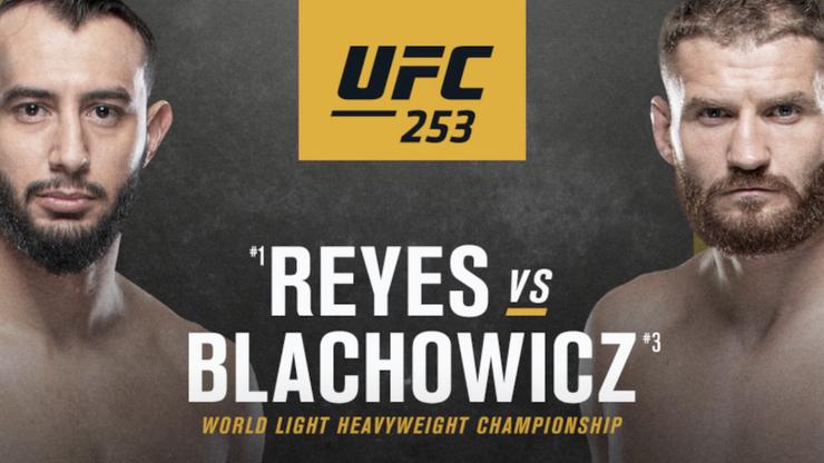 UFC 253: Jan Błachowicz - Dominick Reyes. Relacja i wyniki na żywo