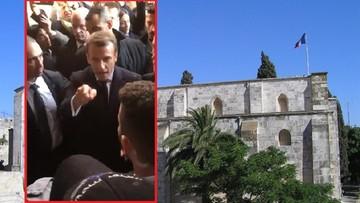 Awantura w Jerozolimie. Macron kontra izraelscy policjanci [WIDEO]