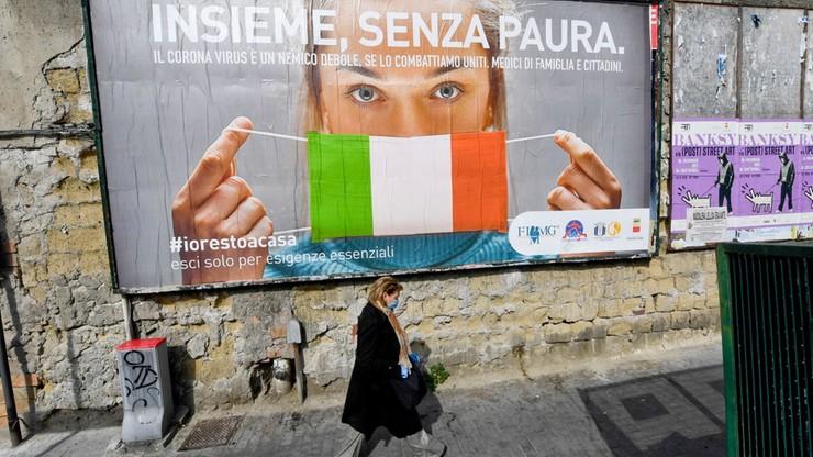Włochy: blisko 800 ofiar koronawirusa w ciągu ostatniej doby