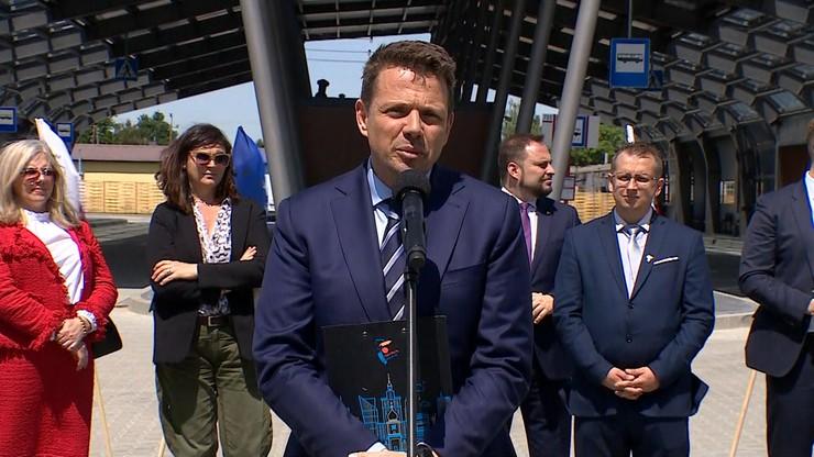 Trzaskowski: Gigantyczne inwestycje jak CPK nie są najbardziej potrzebne