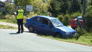 Auto z całym impetem uderzyło w 14-latka. Przechodził przez pasy