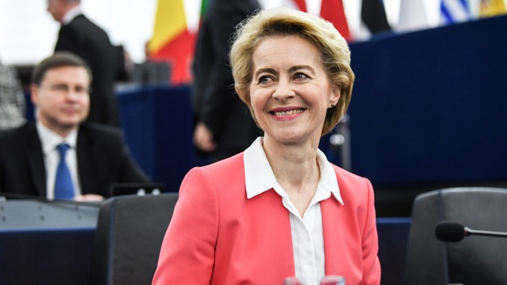 Komisja Europejska Ursuli von der Leyen zatwierdzona przez europarlament