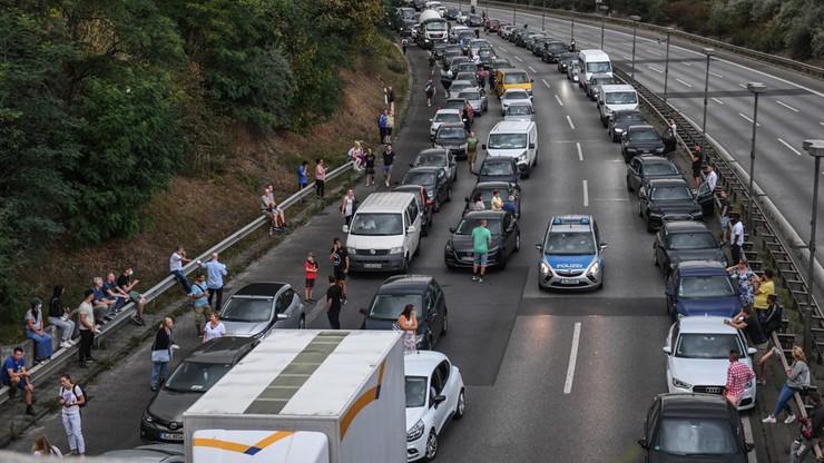Seria wypadków na autostradzie w Niemczech to zamach islamistyczny
