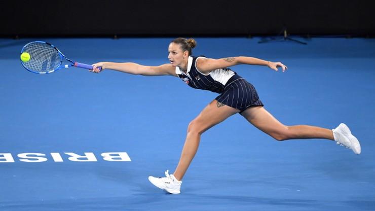 WTA w Brisbane: Keys i Pliskova zagrają w finale