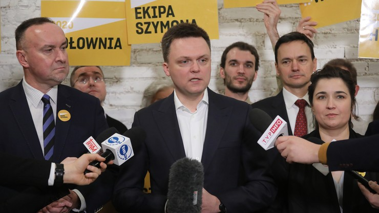 """Hołownia przedstawił sztab wyborczy. Zapowiada """"Sztafetę Szymona"""""""