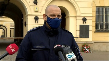"""Policja o przebiegu """"Marszu na Warszawę"""""""