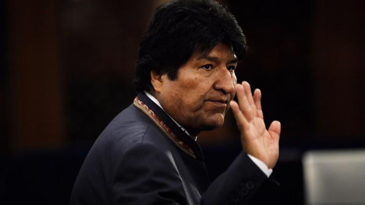 Napięta sytuacja w Boliwii. Prezydent podał się do dymisji