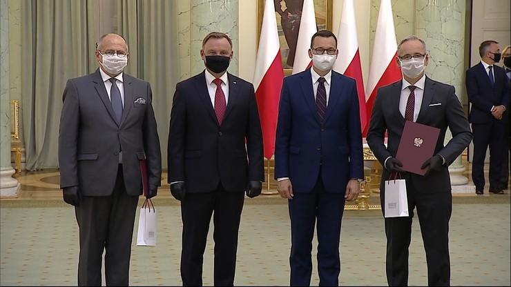 Zbigniew Rau i Adam Niedzielski. Prezydent powołał nowych ministrów