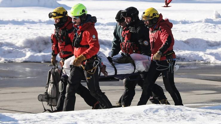 Ciało turysty w rejonie Świnicy i groźny wypadek w drodze na Rysy. Niebezpiecznie w Tatrach