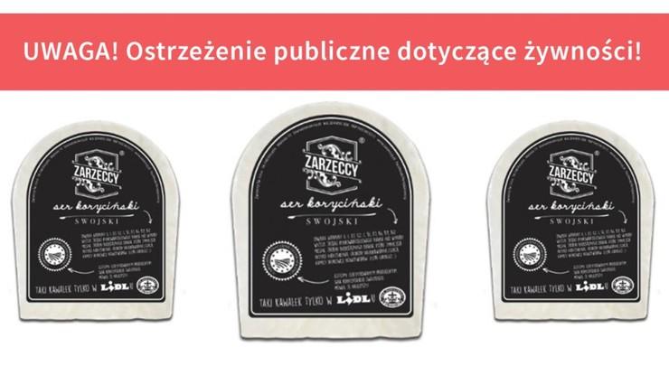 Groźna bakteria w serze. Popularna sieć sklepów wycofuje produkt