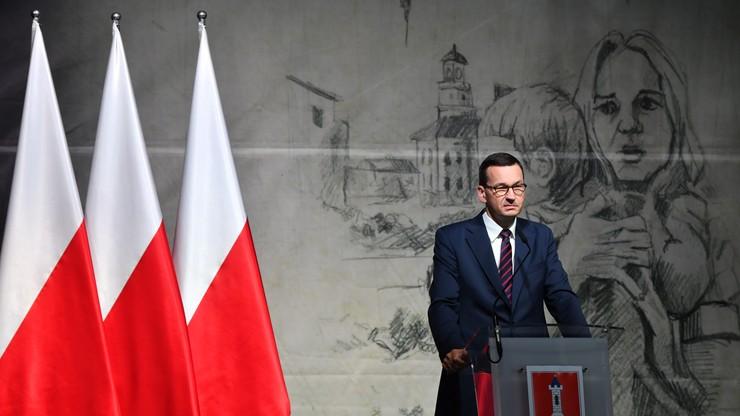 81. rocznica II Wojny Światowej. Morawiecki w Wieluniu: tu objawił się barbarzyński zamysł Niemców