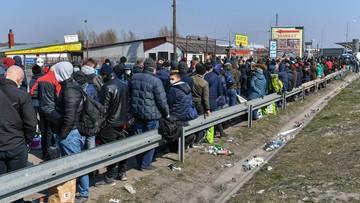 Dramat na granicy. Tysiące Ukraińców próbują wrócić do swojego kraju