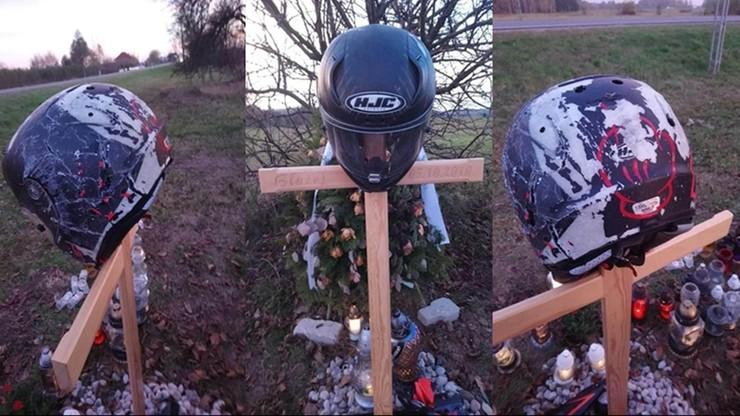 """""""Oddaj ten kask. Zginął w nim człowiek"""". Apel motocyklistów do złodzieja"""
