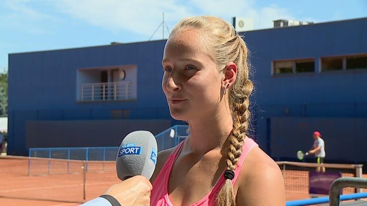Weronika Baszak: Marzę o tym, aby być numerem jeden w rankingu WTA