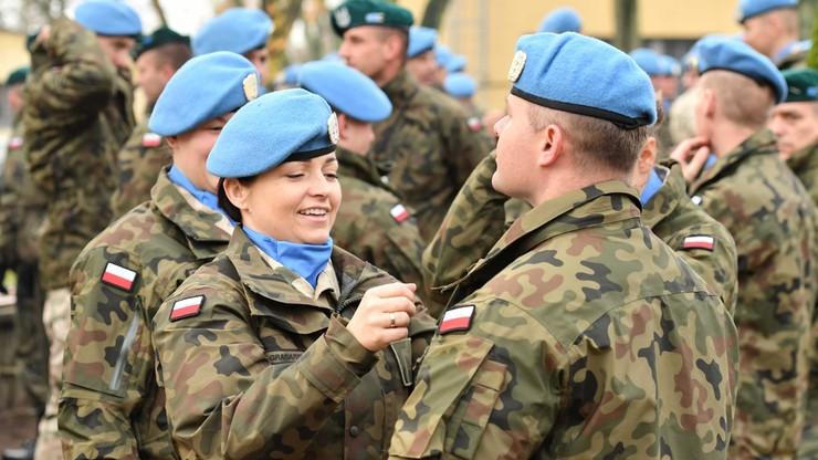 Polscy żołnierze ruszają z misją na Bliski Wschód