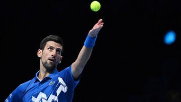 ATP Finals: Novak Djokovic o klasę lepszy od Diego Schwartzmana