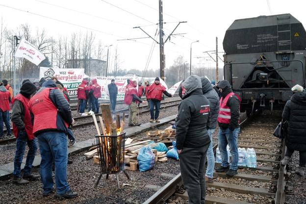 Elektrownia Łaziska, protest