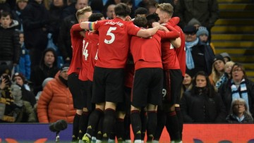 Premier League: Derby Manchesteru dla United. City coraz dalej od obrony tytułu