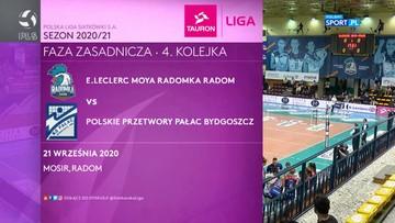 E.Leclerc Moya Radomka Radom – Polskie Przetwory Pałac Bydgoszcz 3:0. Skrót meczu