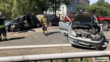 Ponad 10 rannych w wypadku koło Kłodzka. Wśród nich są dzieci