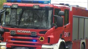 Pożar w Mysłowicach. Sześć osób w szpitalu