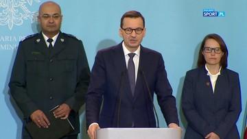 Premier Morawiecki: Rekomenduję, aby odwoływano imprezy masowe