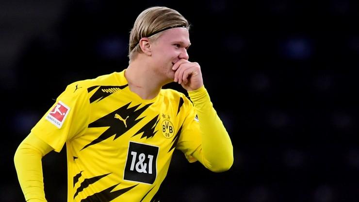 Bundesliga: Cztery gole Haalanda w meczu z Herthą