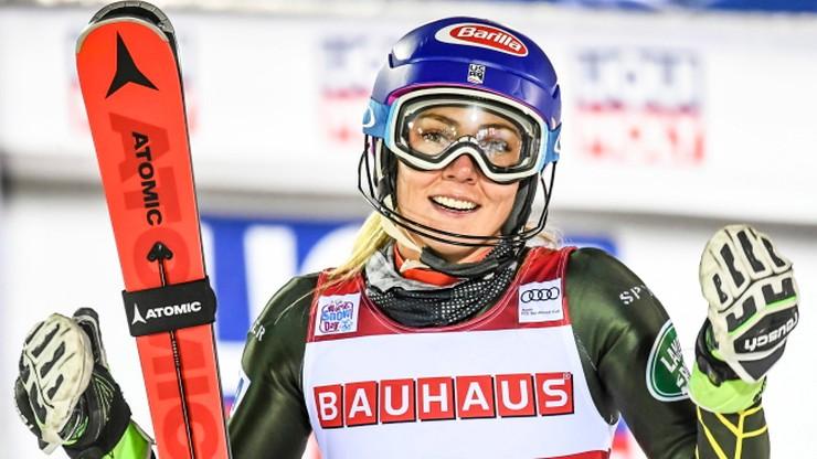 Alpejski PŚ: Shiffrin wygrała slalom w Levi