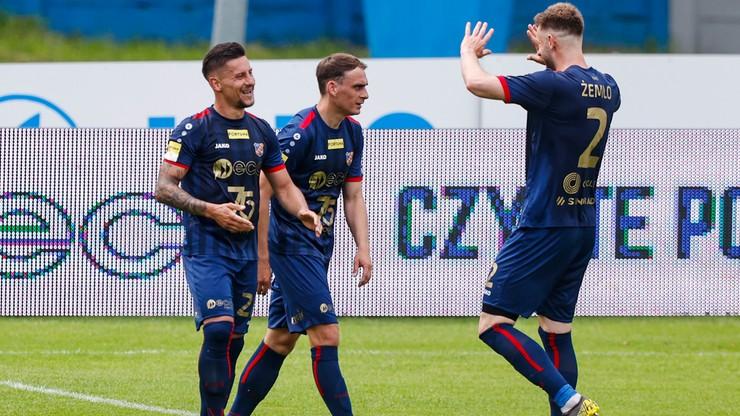 Fortuna 1 Liga: Cenne zwycięstwo Odry Opole. Piech bohaterem
