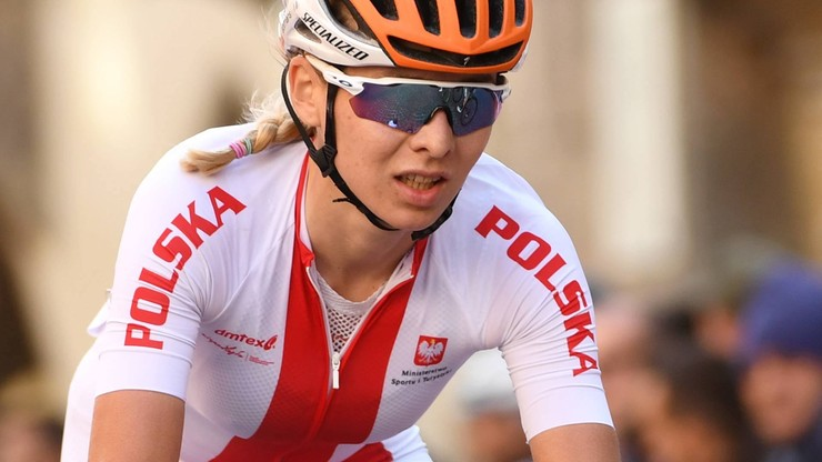 ME w kolarstwie: Anna Plichta 7. w czasówce. Marta Jaskulska z medalem