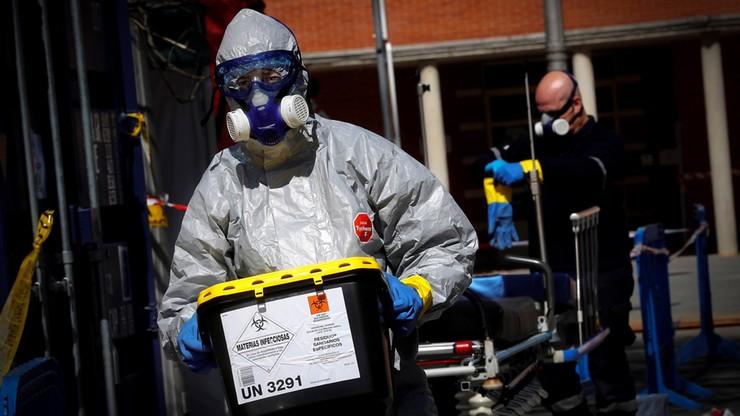 Hiszpania: 838 ofiar koronawirusa w ciągu doby