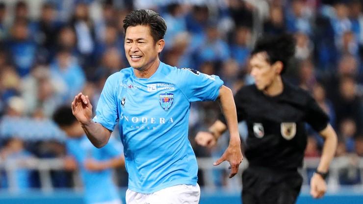53-letni Kazuyoshi Miura zagrał w meczu japońskiej ekstraklasy