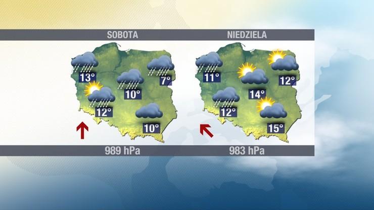 W sobotę 2 listopada, w Dzień Zaduszny, będzie cieplej, ale deszczowo.