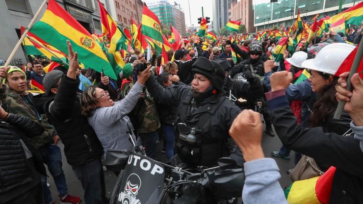 Apel szefowej unijnej dyplomacji o spokój i odpowiedzialność w Boliwii