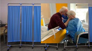Są ze sobą od 52 lat, oboje trafili do szpitala. Wyjątkowe zdjęcie w wyjątkowych czasach